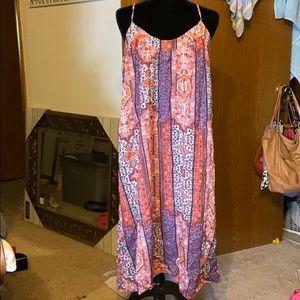 Lucky Brand midi-maxi dress